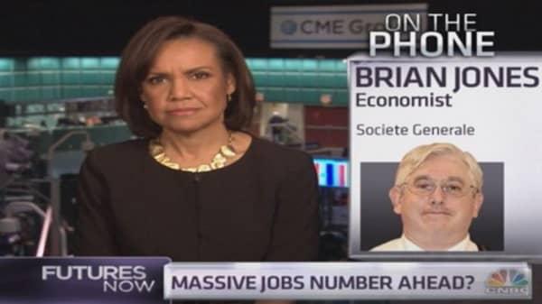 Monster jobs number ahead: SocGen economist
