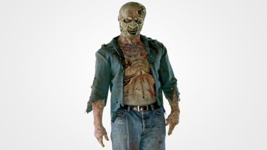 Walking Dead Decomposed Zombie
