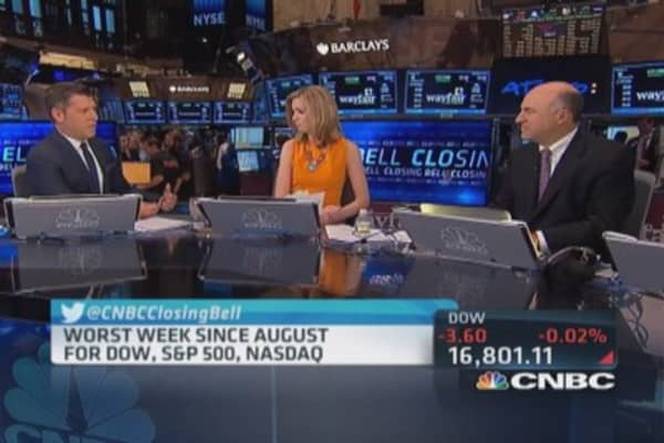Correction in Dow and S&P healthy: Kevin O'Leary