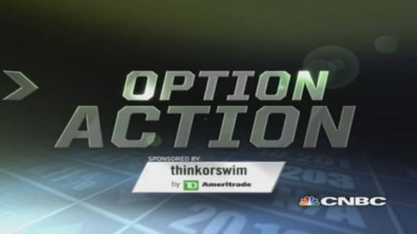 Options Action: Transocean to keep sinking?