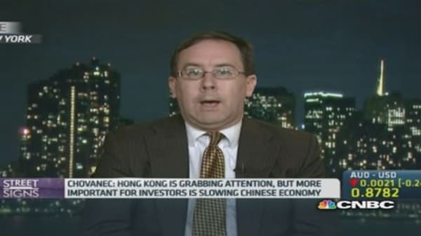 China slowdown more crucial than HK protests: Pro