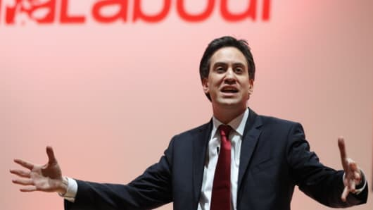 Ed Miliband Labour Party