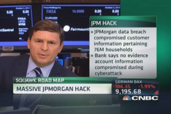 Massive JPMorgan hack