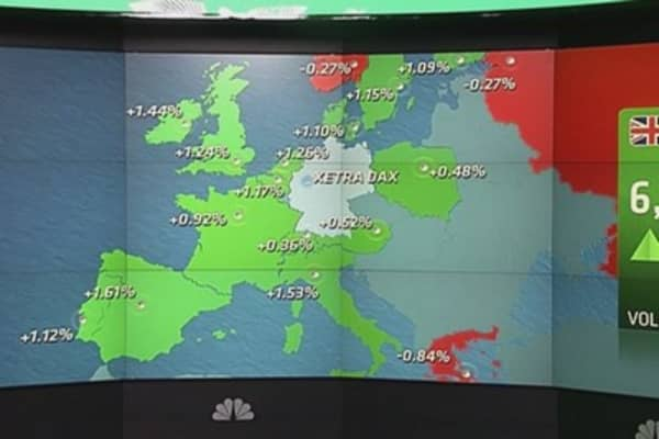 Europe shares close higher; easyJet shares soar