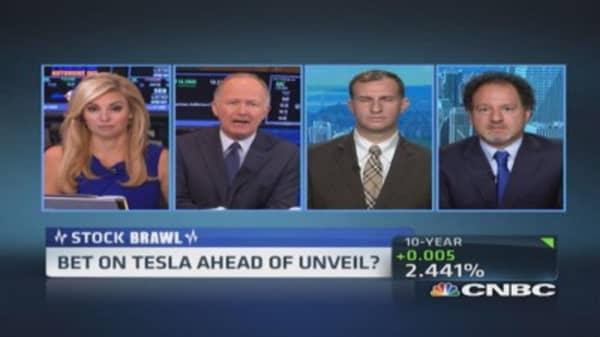 Stock brawl: Tesla's potential