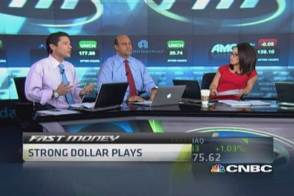 Strong dollar plays: KR, CMG & more