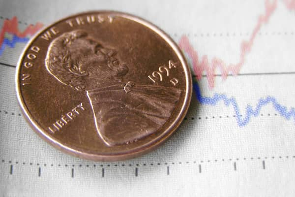 Penny on chart