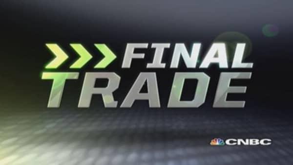 Fast Money Final Trade: KR, EMC, XLE & MDT