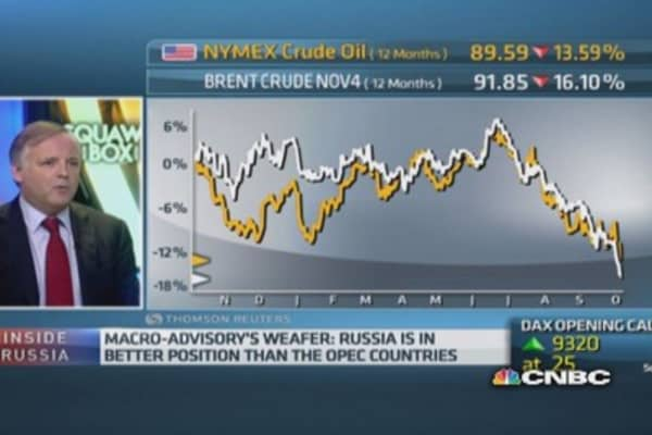 Ruble issue 'all about the oil price': Pro