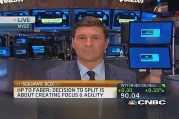 How HP split will work: Faber