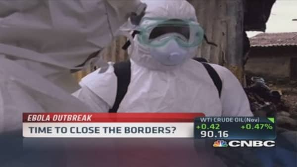 Africa approaching Ebola tipping point: Expert