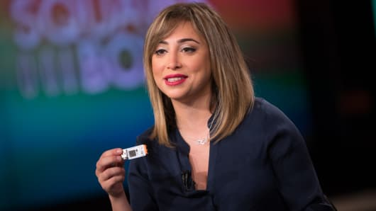 Ayah Bdeir,  founder and CEO of littleBits.