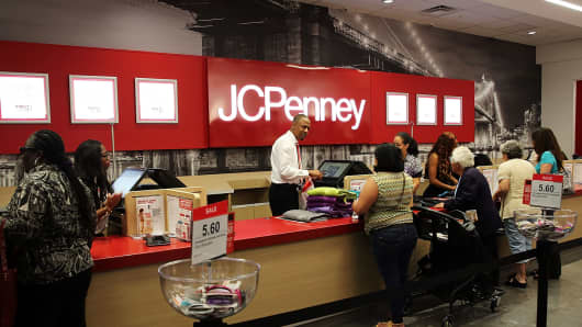 A JC Penney store in Brooklyn, New York.