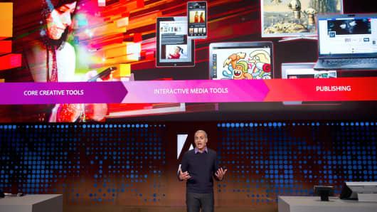 David Wadhwani, senior vice president of digital media for Adobe Systems Inc.