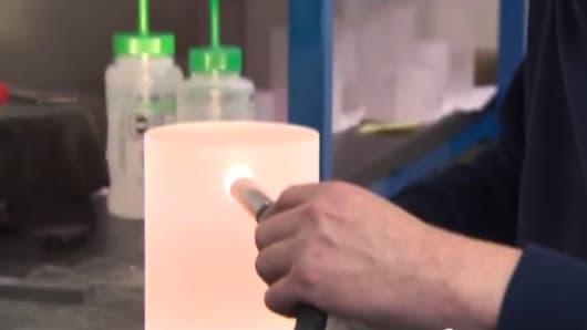 Still from GT Advanced Technologies video