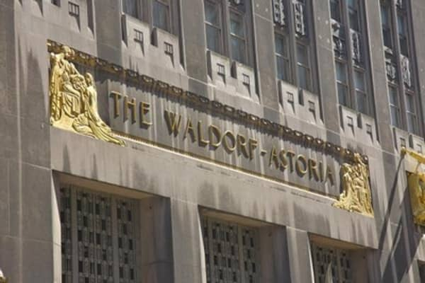 What will Hilton do with Waldorf cash?