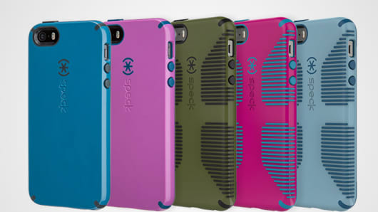 New colors for Speck's iPhone 5/5s cases will debut in a few weeks.