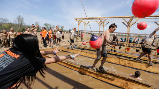 Tough Mudder event in Chicago.