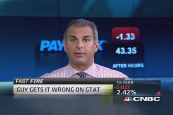 GTAT's bankruptcy trade