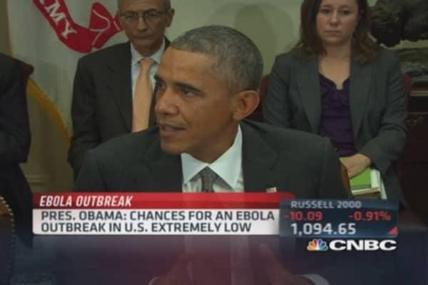 The Ebola threat