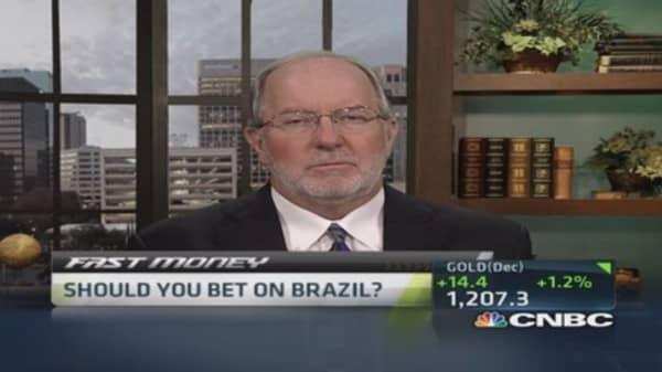 Gartman: Stay out of Brazil