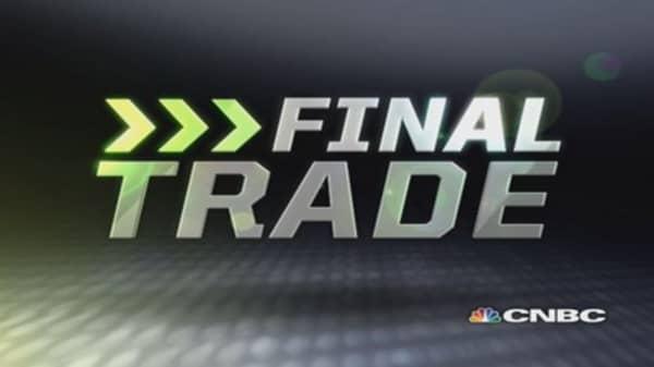 Fast Money Final Trade: EMC, XLE, MTW & XOM