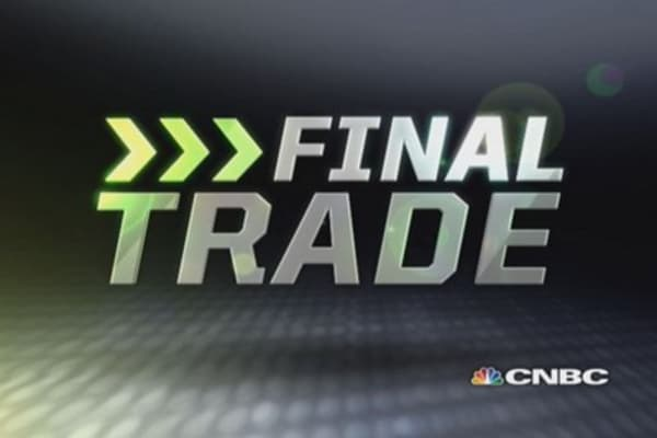 Fast Money Final Trade: EMC, XLE, MTW & XOM