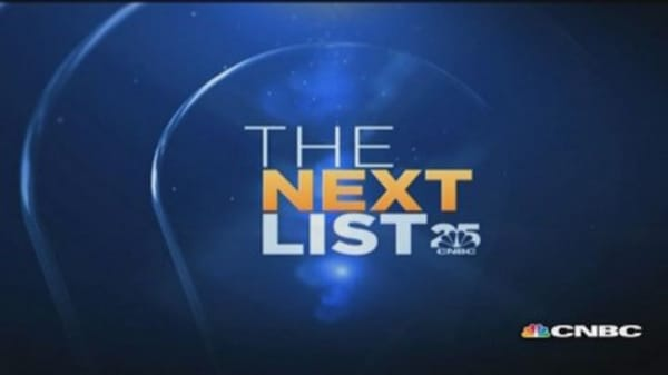 CNBC Next List: A look ahead to the next 25 years