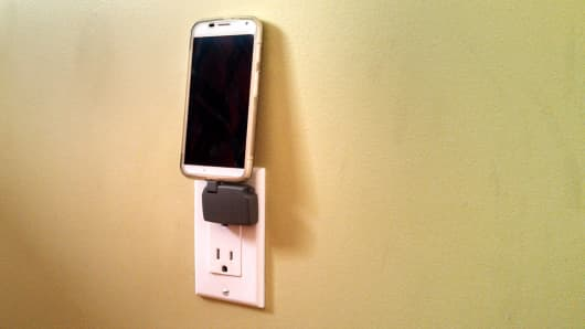 Chargerito's small smart charger.