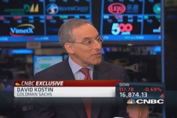 Goldman's Kostin: Invest close to home trend