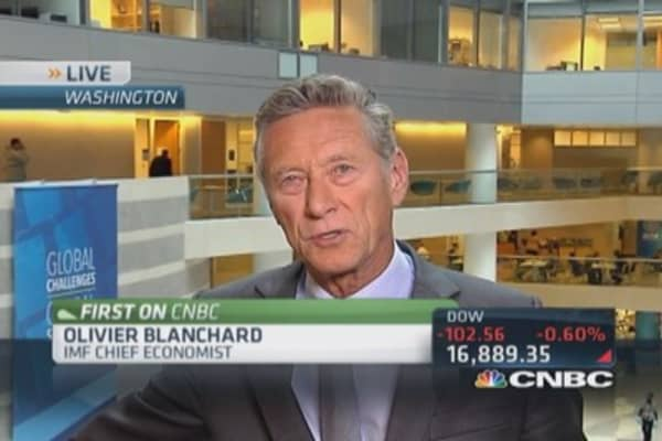 IMF's Blanchard: Slow and uneven economic recovery