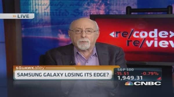Samsung Galaxy losing its edge?