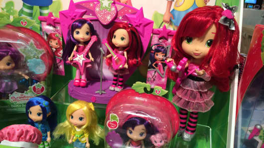 Strawberry Shortcake, retro toys