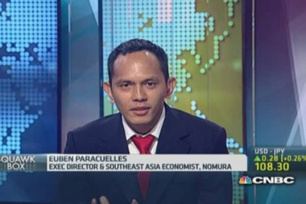 What will trigger a rate hike in Indonesia?