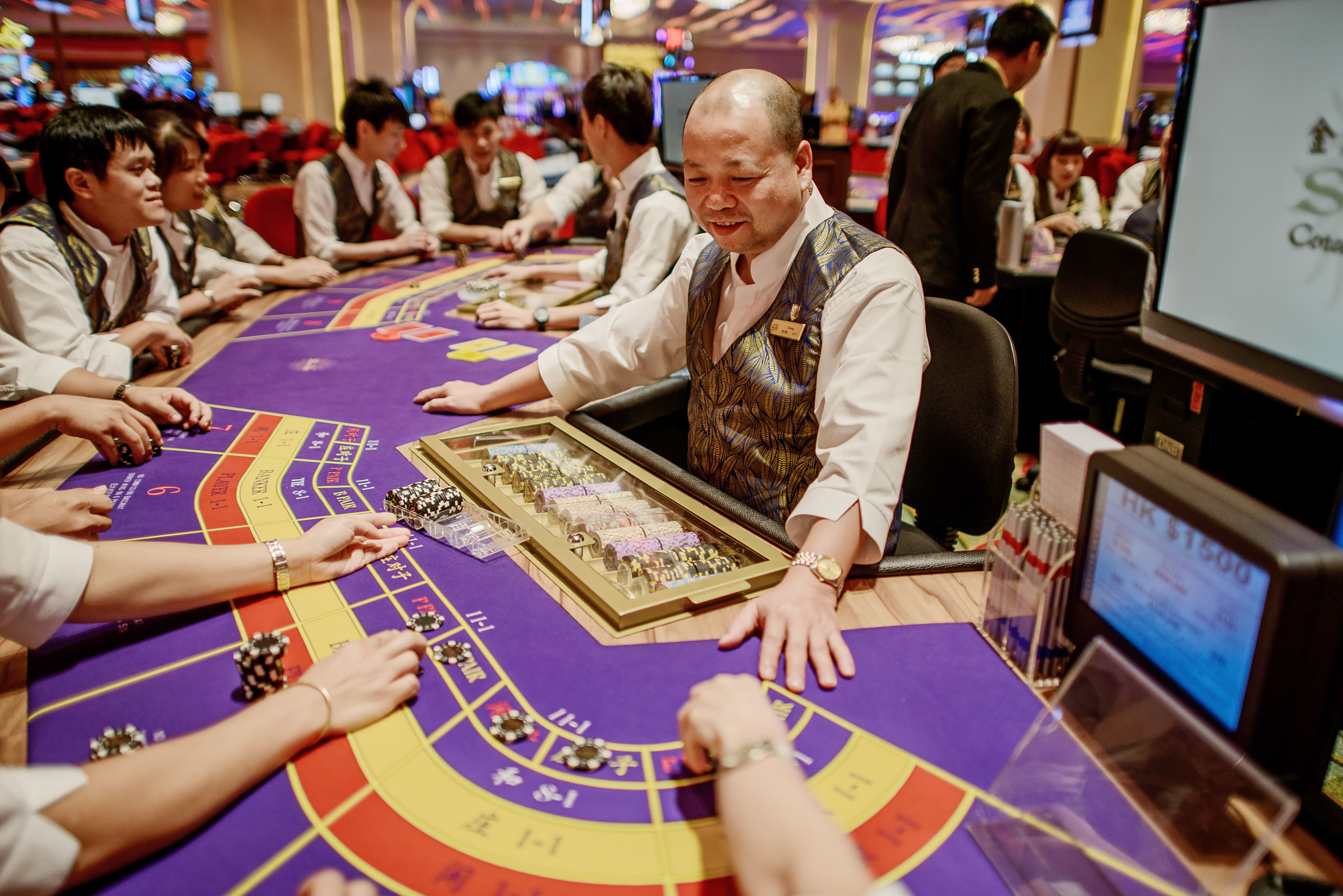 Image result for Macau gaming revenue beats expectations in July