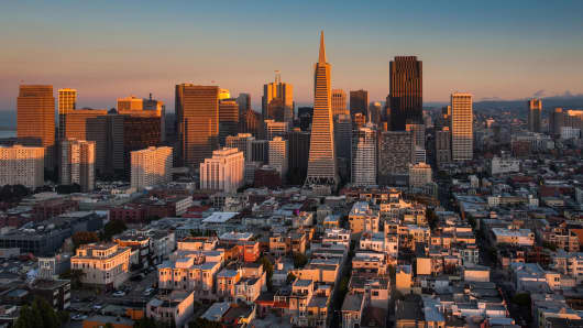 San Francisco Skyline, San Francisco