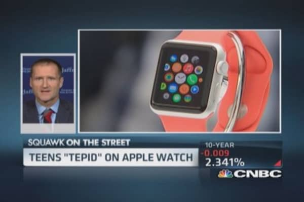Teens tepid on Apple Watch: Pro