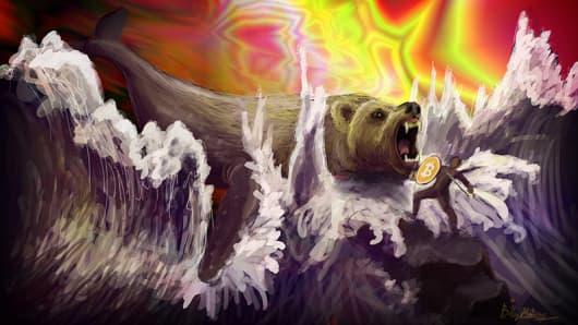The Bitcoin 'BearWhale.'