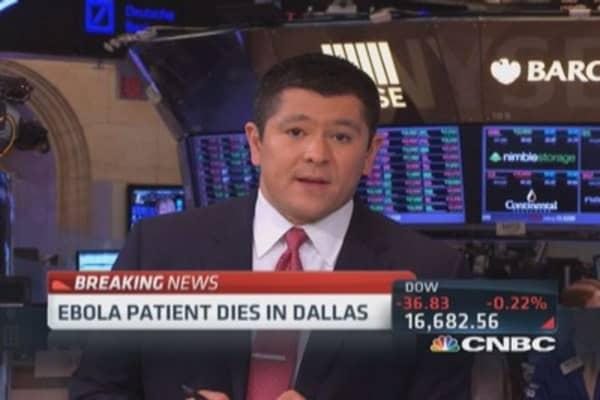 First US Ebola patient dies in Dallas