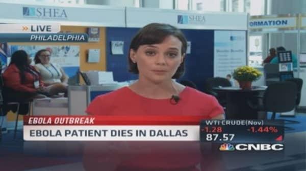 First US Ebola patient dies