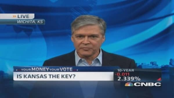 Is Kansas the key?