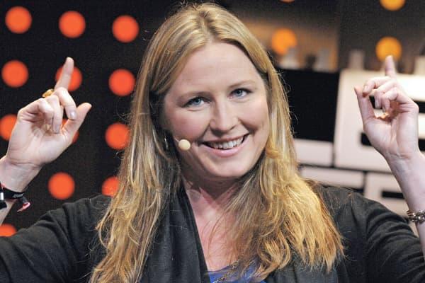 Danae Ringelmann, co-founder and chief development officer of crowdfunding platform Indiegogo