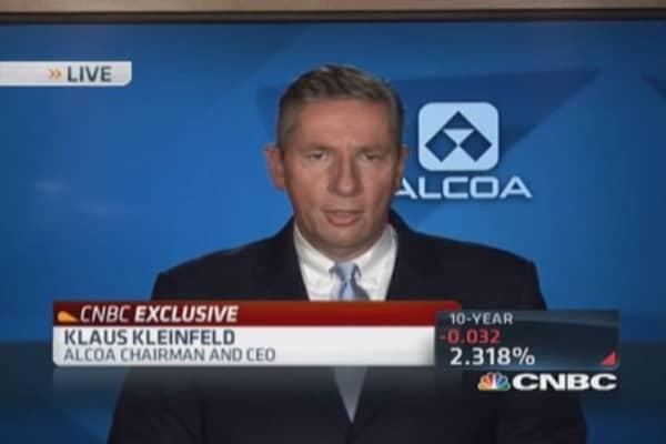 Alcoa CEO: Standout quarter