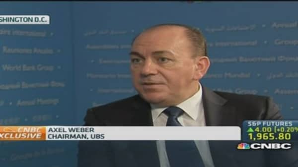 UBS Weber: Italy, France need to control budget