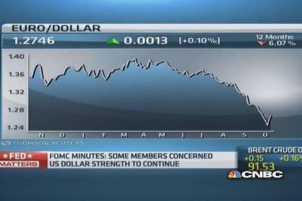 Strong dollar run is 'absolutely on': Gartman