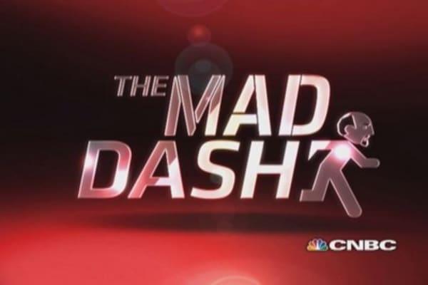 Cramer's Mad Dash: Gap stuck