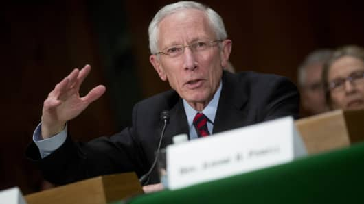 Stanley Fischer, vice chairman of the Federal Reserve.