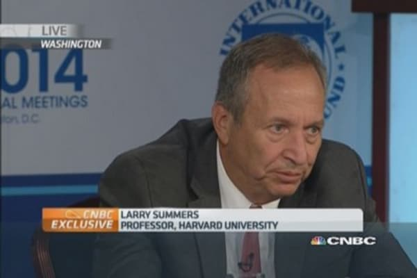 Europe risks Japan scenario: Summers