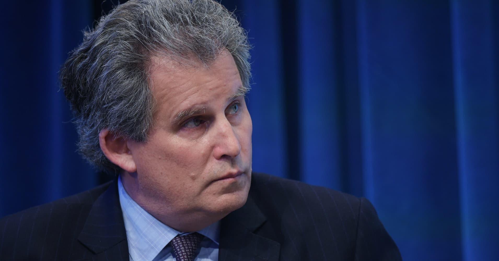 IMF's Lipton warns that volatility hasn't left markets yet