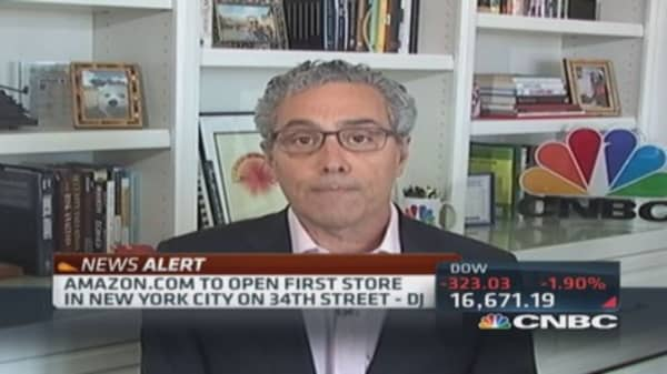 Greenberg on AMZN: Businesses have to constantly reinvent